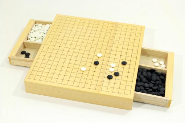 完全収納式囲碁セット「三冠王II」