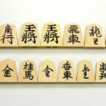 将棋駒 薩摩つげ 水無瀬・錦旗・菱湖