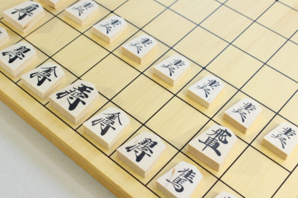 棋になる折れ盤 将棋セット 駒と盤