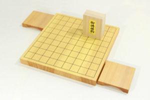 新榧将棋盤10号卓上 駒台セット(駒選択可)