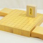 新榧将棋盤20号卓上 駒台セット(駒選択可)