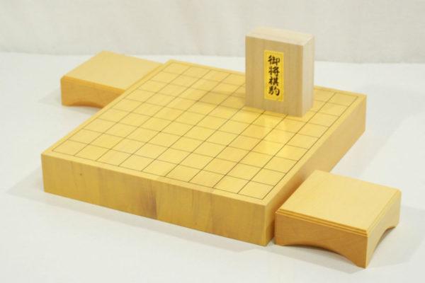 新榧将棋盤20号卓上 駒台セット