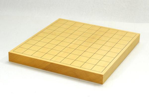 本榧将棋盤 10号柾目 卓上一枚物