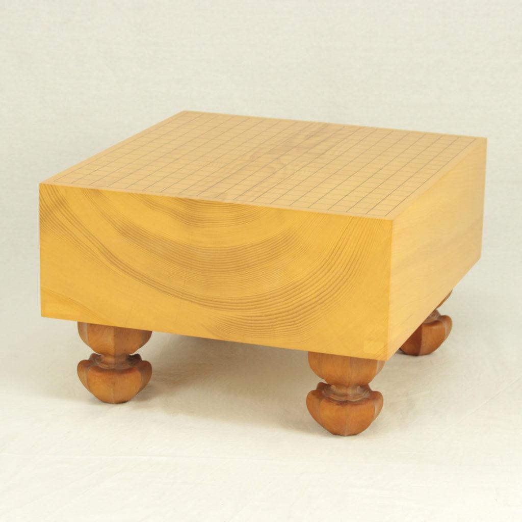本榧(日本産)碁盤板目 5.3寸足付