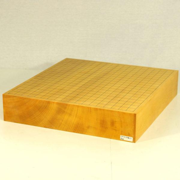 本榧碁盤柾目 3寸卓上一枚板