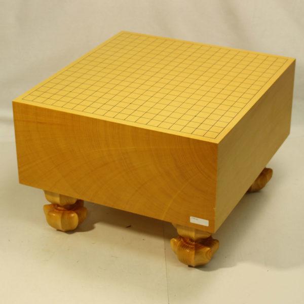 本榧碁盤柾目 6寸足付