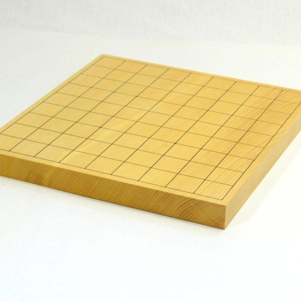 本榧将棋盤 追い柾1寸 卓上用一枚物
