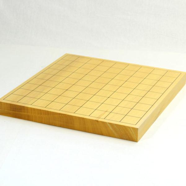 本榧将棋盤 柾目1寸 卓上用一枚物