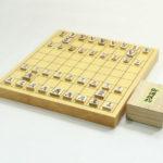 新榧将棋盤10号 木駒(上別製源平)付