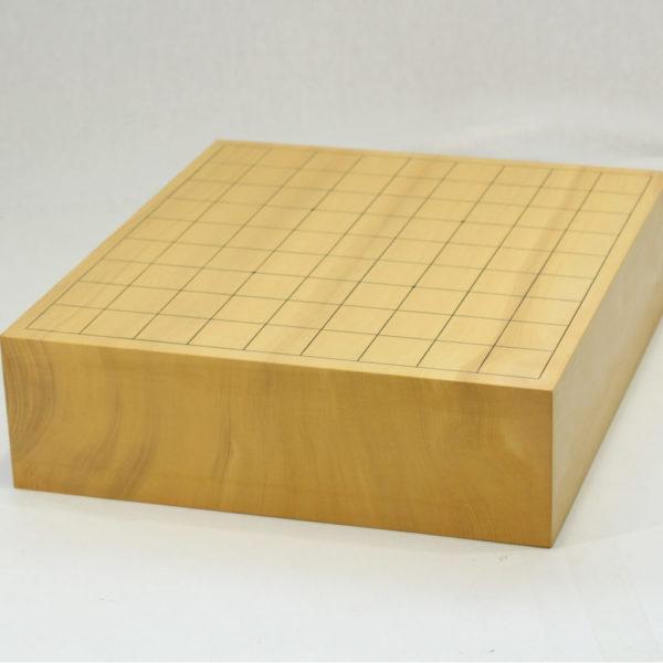 日本産本榧将棋盤 3寸柾目 卓上用一枚物