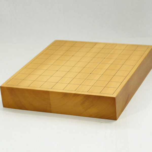 本榧将棋盤 2寸卓上2枚ハギ
