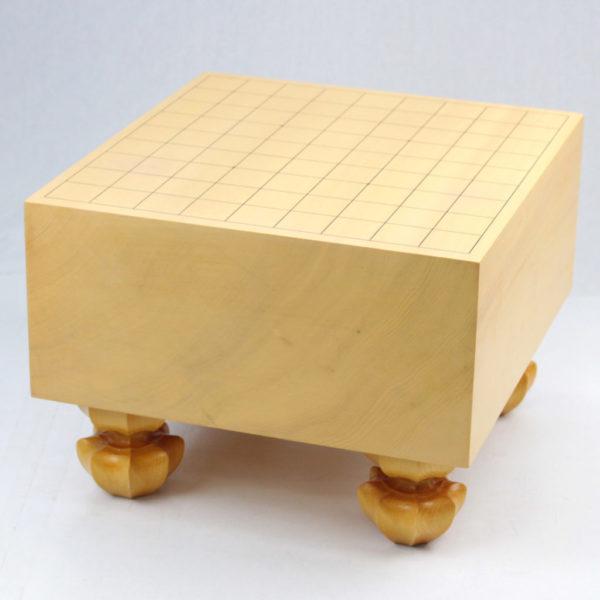 本榧(日本産)将棋盤 5.2寸柾目足付