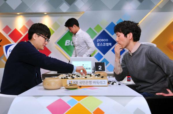 最終局 羅玄(左) vs 李昌鎬