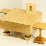 本桂将棋盤30号 駒+駒台セット(白椿上彫)
