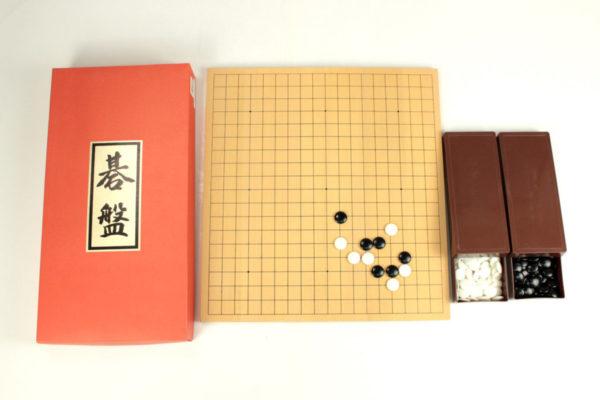 碁石付折碁盤セット