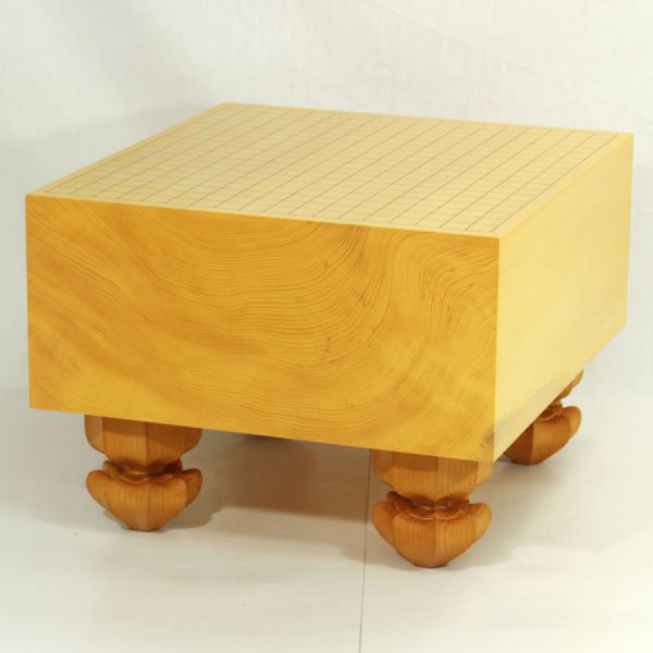 日本産本榧 碁盤板目 6.3寸