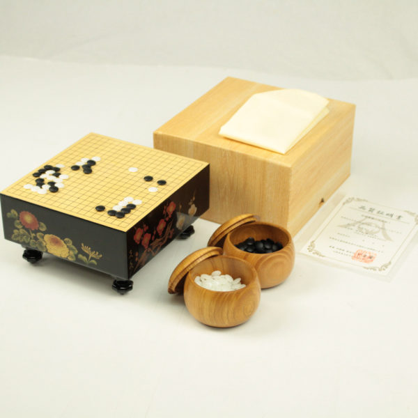漆芸沈金 ミニ碁盤(3分石用)