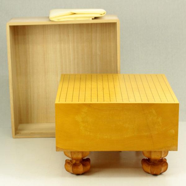 (中古)本榧碁盤 5.5寸木裏