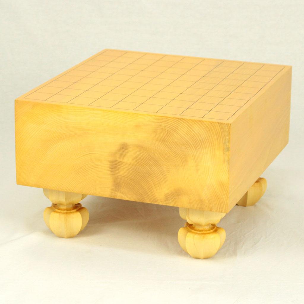 日本産本榧将棋盤 4.5寸木裏