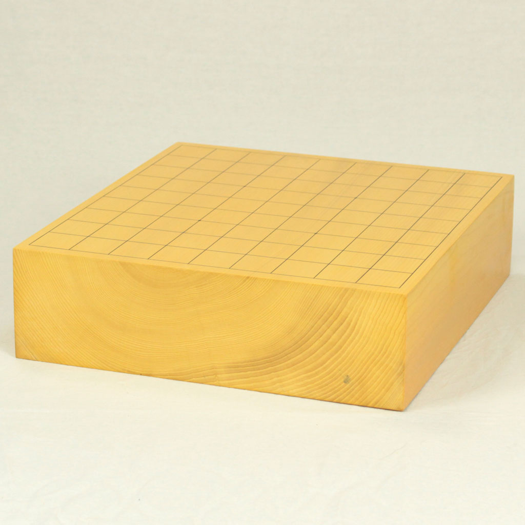 日本産本榧将棋盤 3寸木裏