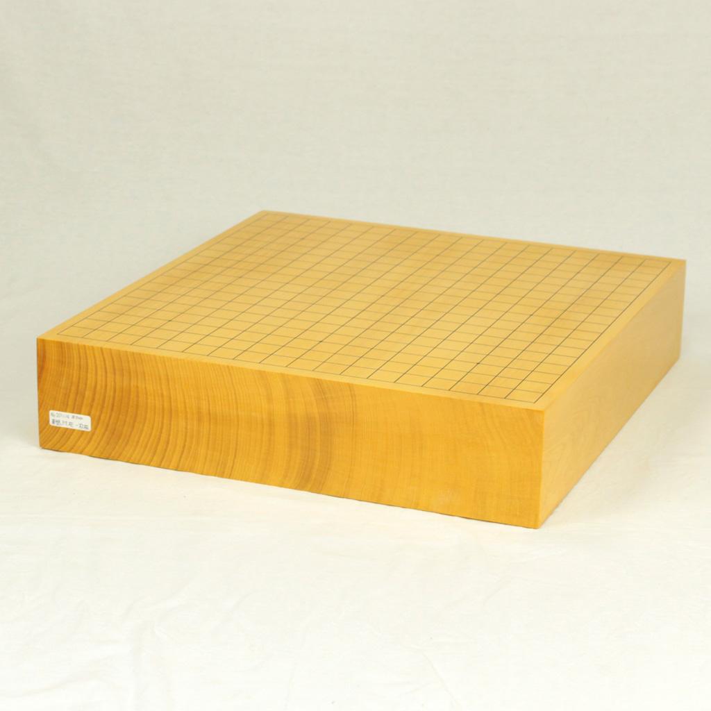 本榧碁盤 3寸柾目 一枚物
