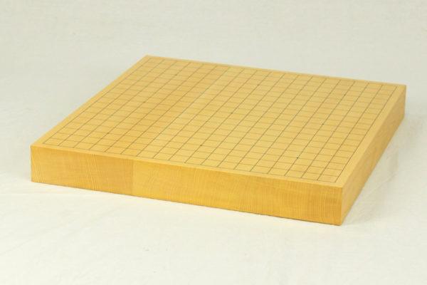 本榧碁盤 1.7寸柾目 ハギ
