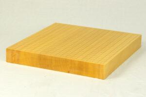 日本産本榧碁盤 3寸柾目ハギ 卓上