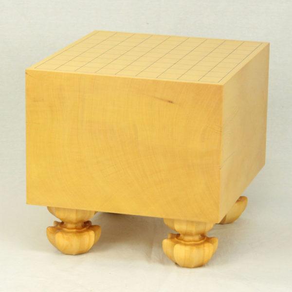 ヒバ将棋盤7.5寸柾目 足付