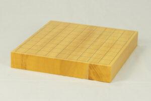 日本産本榧 卓上将棋盤 1.5寸柾目ハギ