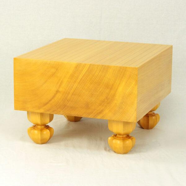 日本産本榧碁盤 5.9寸柾目 四方柾