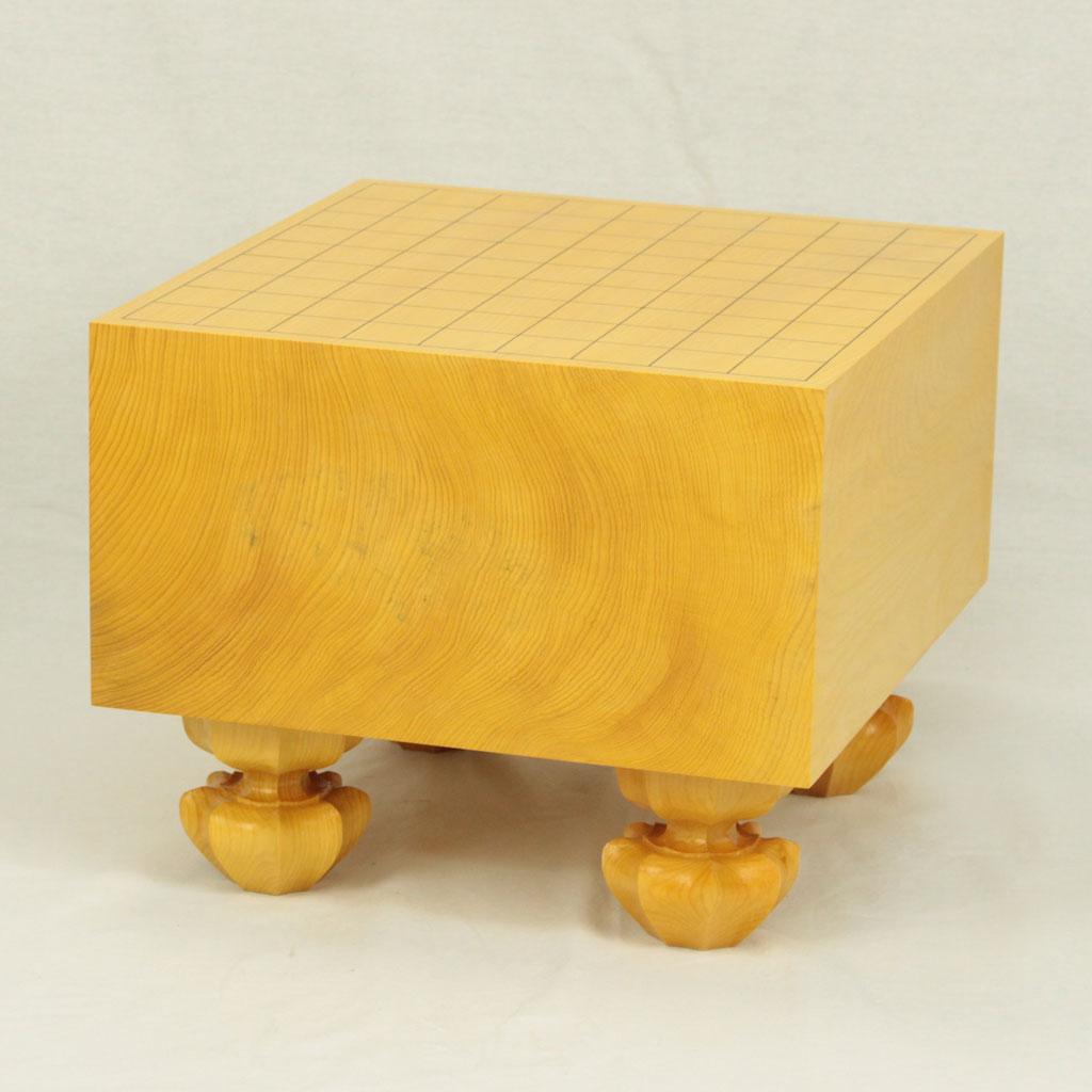 日本産本榧将棋盤 5.8寸柾目