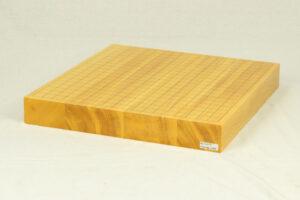 日本産本榧卓上碁盤 2寸柾目ハギ