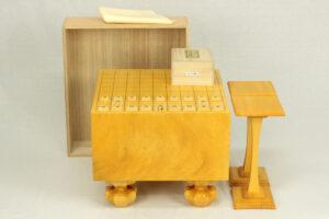 日本産本榧将棋盤 6寸フルセット