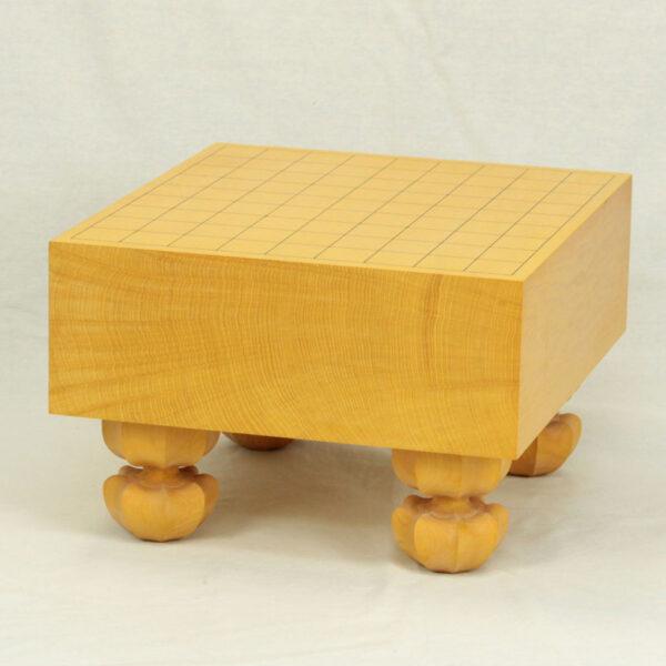 本榧将棋盤 4寸天地柾